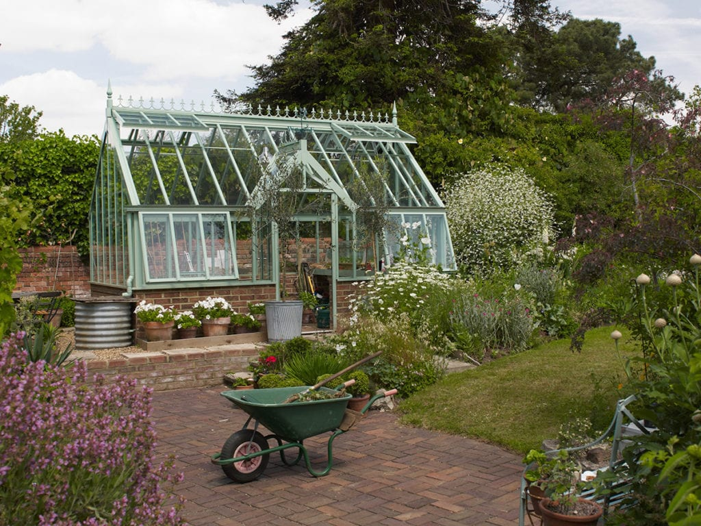High quality aluminium greenhouse