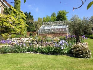 Bespoke greenhouse for alpine plants in Kent