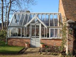 Victorian greenhouse in Warwickshire