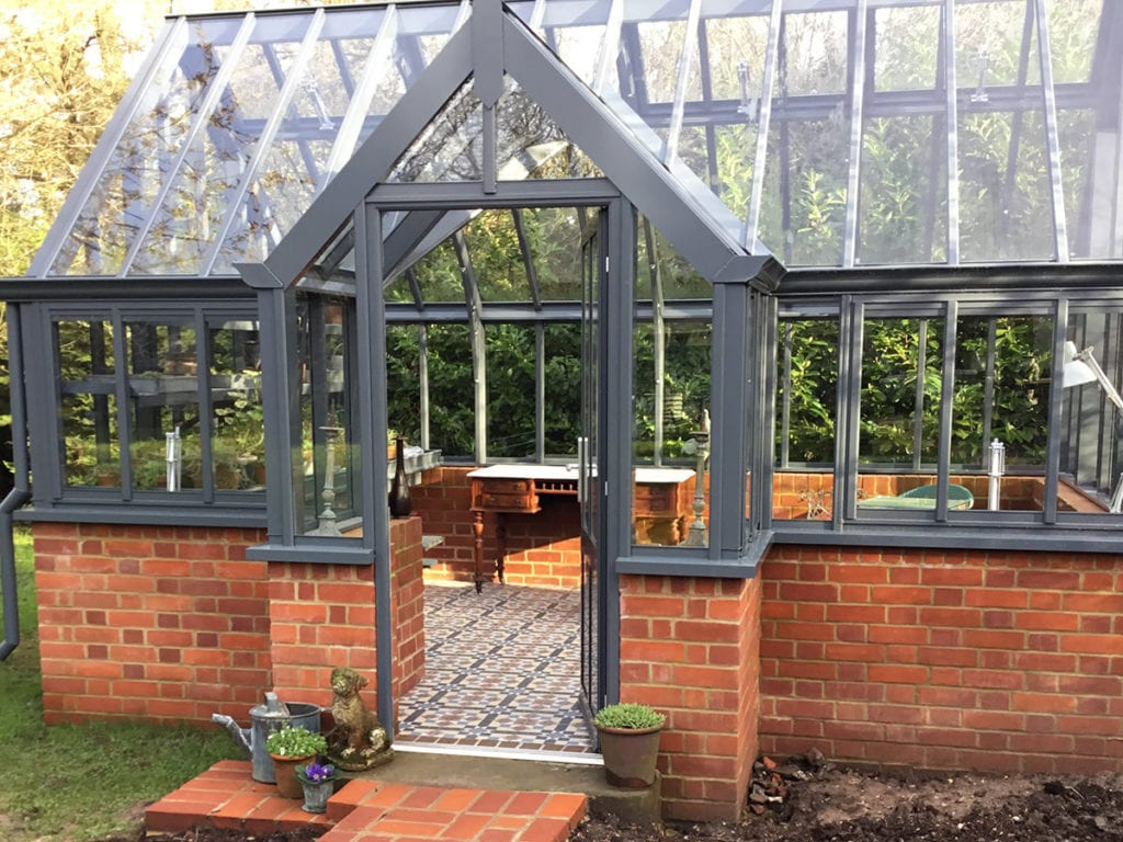 Beautiful Victorian greenhouse in Oxford