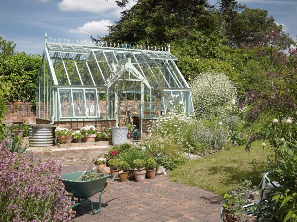 Beautiful traditional greenhouse