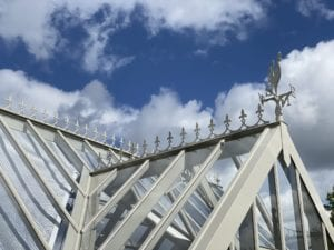 victorian greenhouse roof